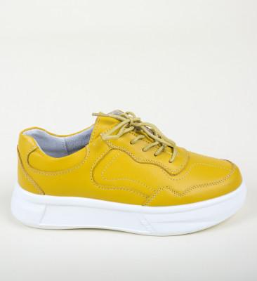 Pantofi Casual Peters Galbeni