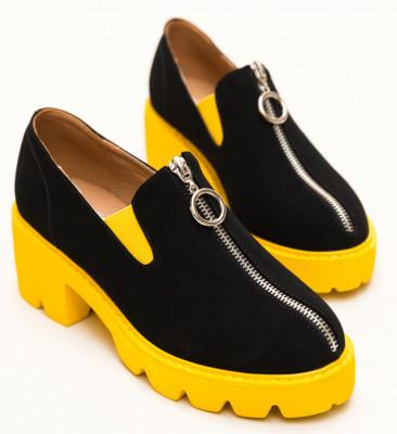 Pantofi Casual Polly Galbeni
