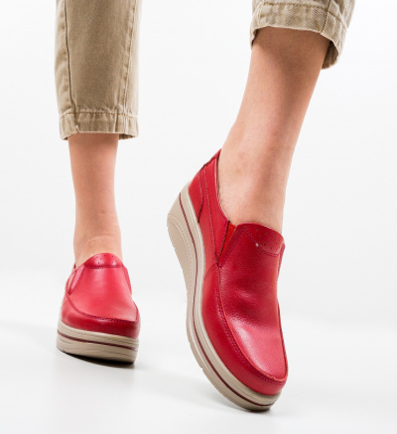 Pantofi Casual Rankin Rosii