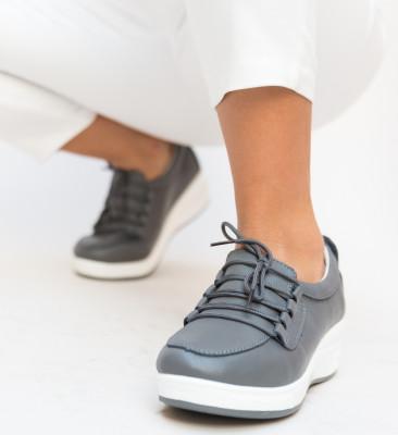 Pantofi Casual Roma Gri