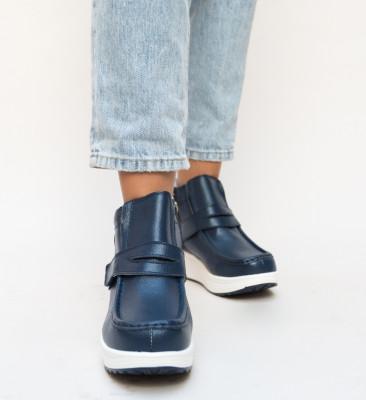 Pantofi Casual Rumby Bleum2