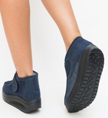 Pantofi Casual Rusem Bleumarin