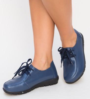Pantofi Casual Serbe Bleumarin