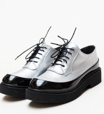 Pantofi Casual Sesto Argintii