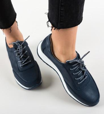 Pantofi Casual Velma Bleumarin