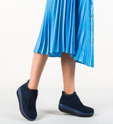 Pantofi Casual Zahraa Bleumarin