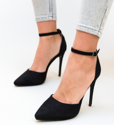 Pantofi Collier Negre