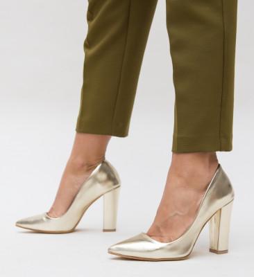 Pantofi Dekor Aurii