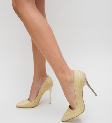 Pantofi Demas Aurii 2