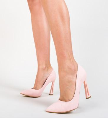 Pantofi Dipper Roz 2