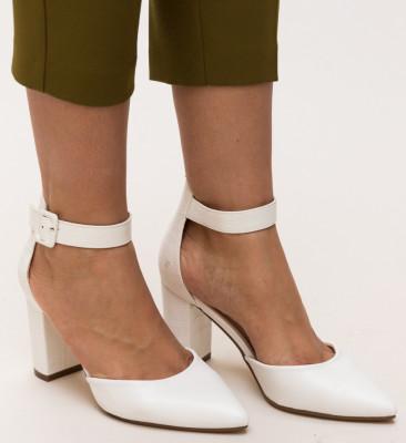 Pantofi Duffy Albi