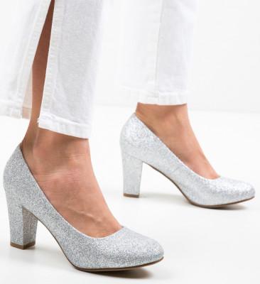 Pantofi Esoum Argintii