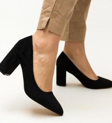 Pantofi Faulker Negri