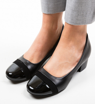 Pantofi Fesgabo Negri