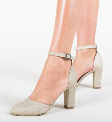 Pantofi Focus Aurii