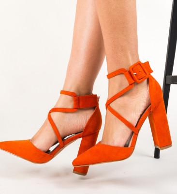 Pantofi Garet Portocalii
