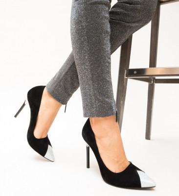 Pantofi Hamo Argintii