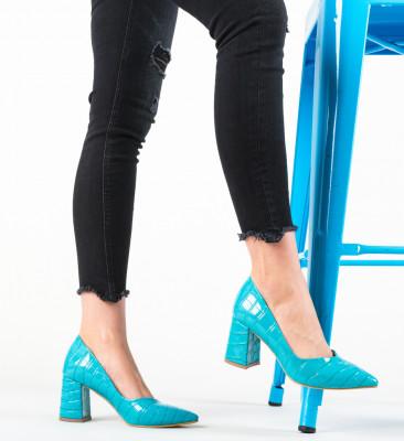 Pantofi Hilfi Turcoaz