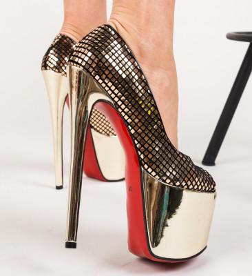 Pantofi Informatio Aurii