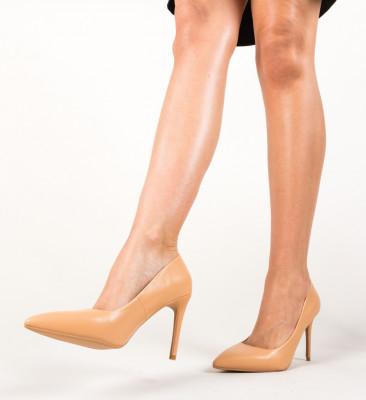 Pantofi Jaidon Nude