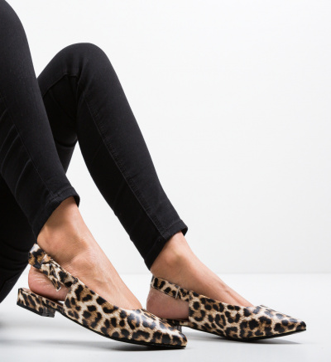 Pantofi Lilli Animal Print