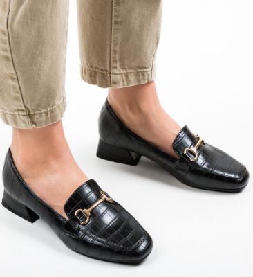 Pantofi Lonao Negri