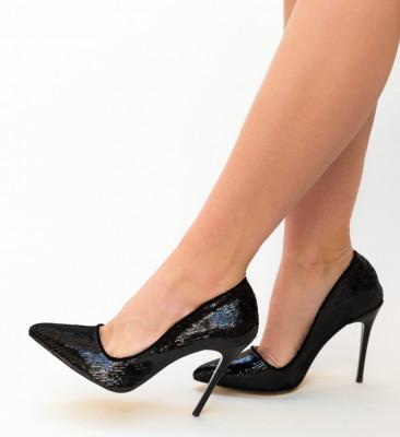Pantofi Meidaro Negri 2