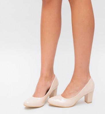 Pantofi Murf Nude