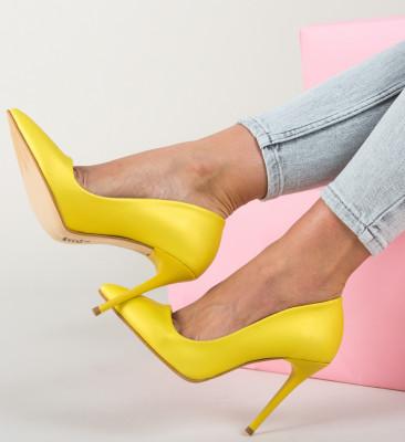 Pantofi Obede Galbeni