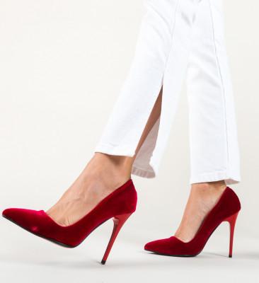Pantofi Oligo Rosii