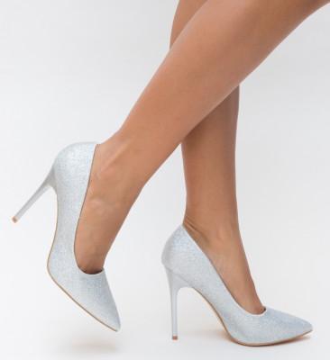 Pantofi Orta Argintii