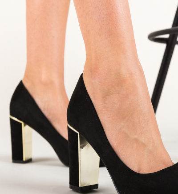 Pantofi Peonix Negri