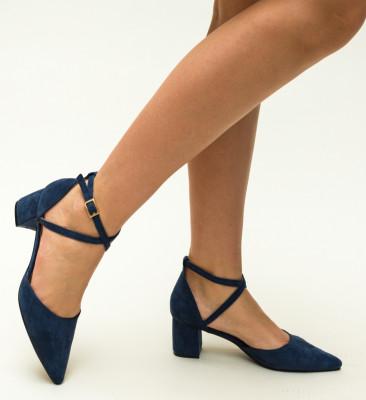 Pantofi Ramos Bleumarin