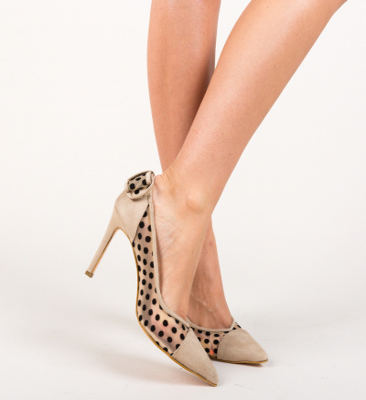 Pantofi Relena Bej