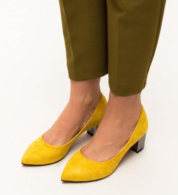 Pantofi Richie Galbeni
