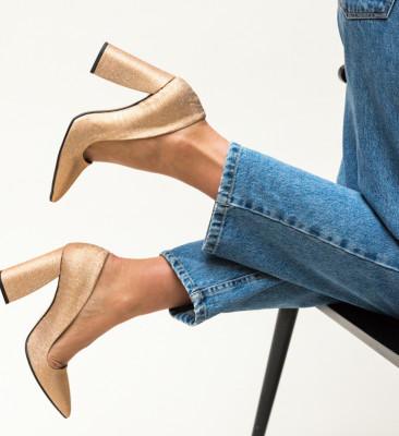 Pantofi Salim Roz