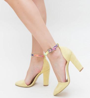 Pantofi Sany Galbeni 2