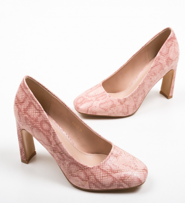 Pantofi Sart Roz