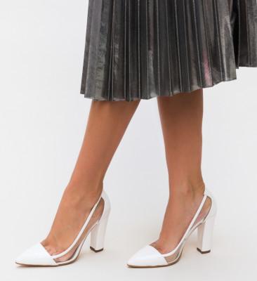Pantofi Seneha Albi