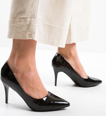 Pantofi Slat Negri