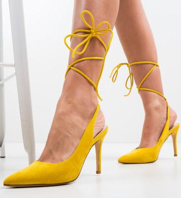 Pantofi Solly Galbeni