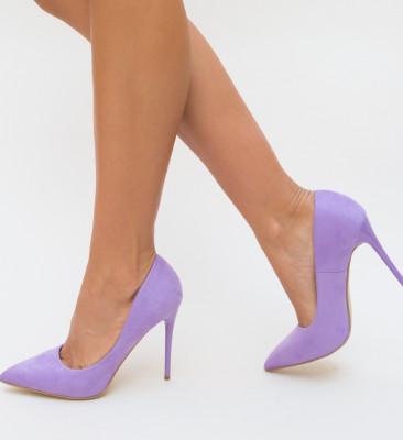 Pantofi Spiro Mov