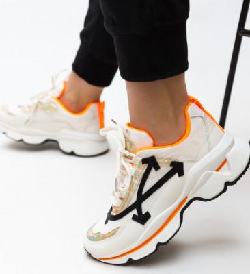 Pantofi Sport Alesha Portocalii