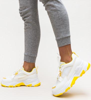Pantofi Sport Bazic Galbeni
