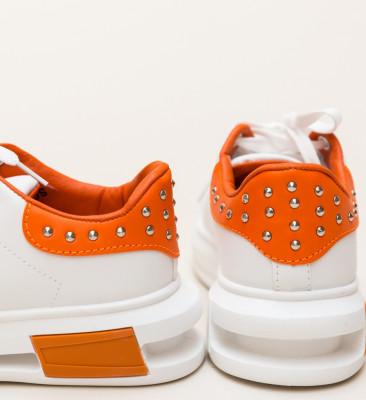 Pantofi Sport Botega Portocalii