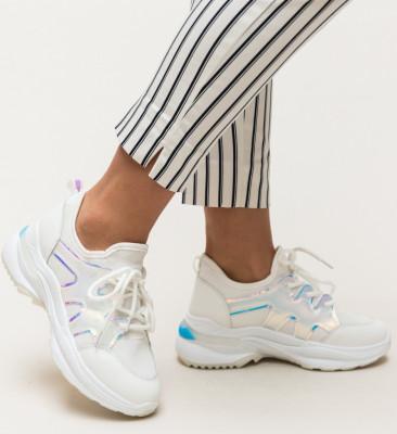Pantofi Sport Bush Albi