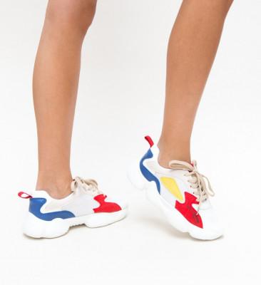 Pantofi Sport Carbon Rosii