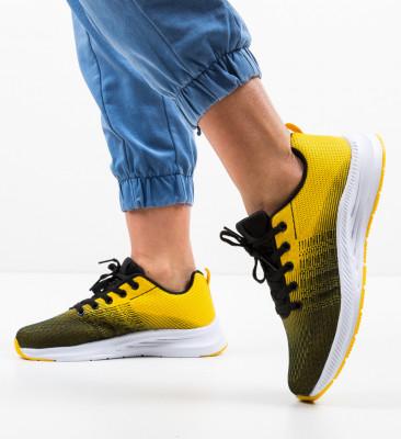 Pantofi Sport Ceaso Galbeni