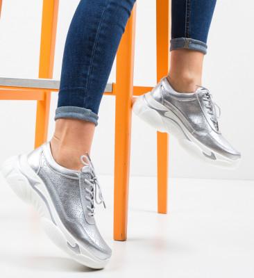 Pantofi Sport Dumini Argintii