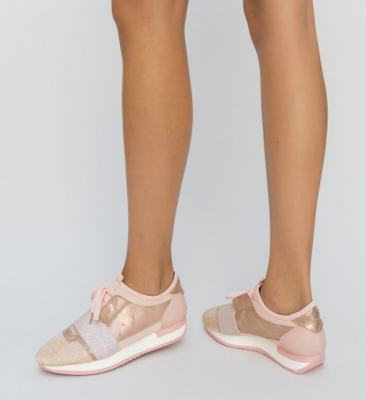 Pantofi Sport Geno Roz